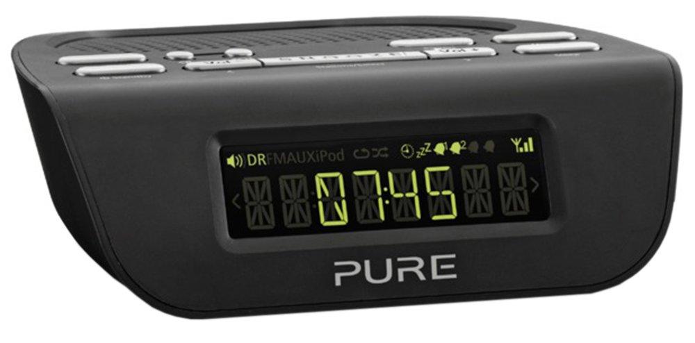 Pure Siesta Mi Series 2 DAB+/FM Alarm Clock Radio - Black