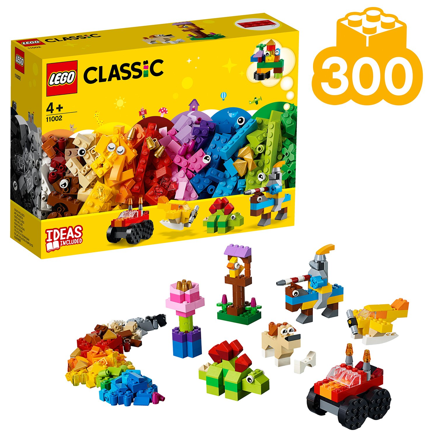 LEGO Classic Basic Toy Bricks Building Set - 11002