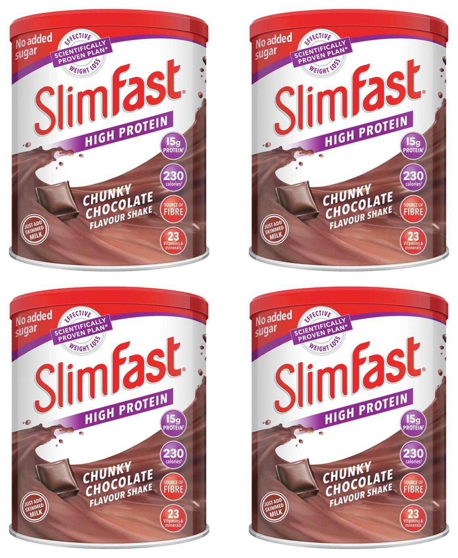 SlimFast Chunky Chocolate Shakes
