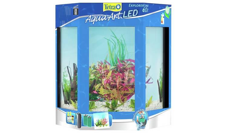 buy tetra aquaart explorer aquarium set 60l fish tanks. Black Bedroom Furniture Sets. Home Design Ideas