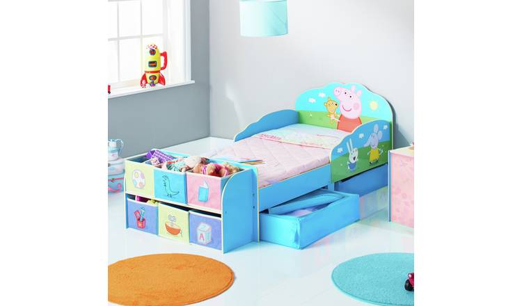 Peppa Pig Toddler Bed Cube & Mattress