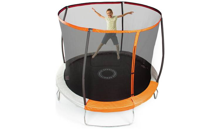 Sportspower 8ft Outdoor Kids Trampoline with Enclosure