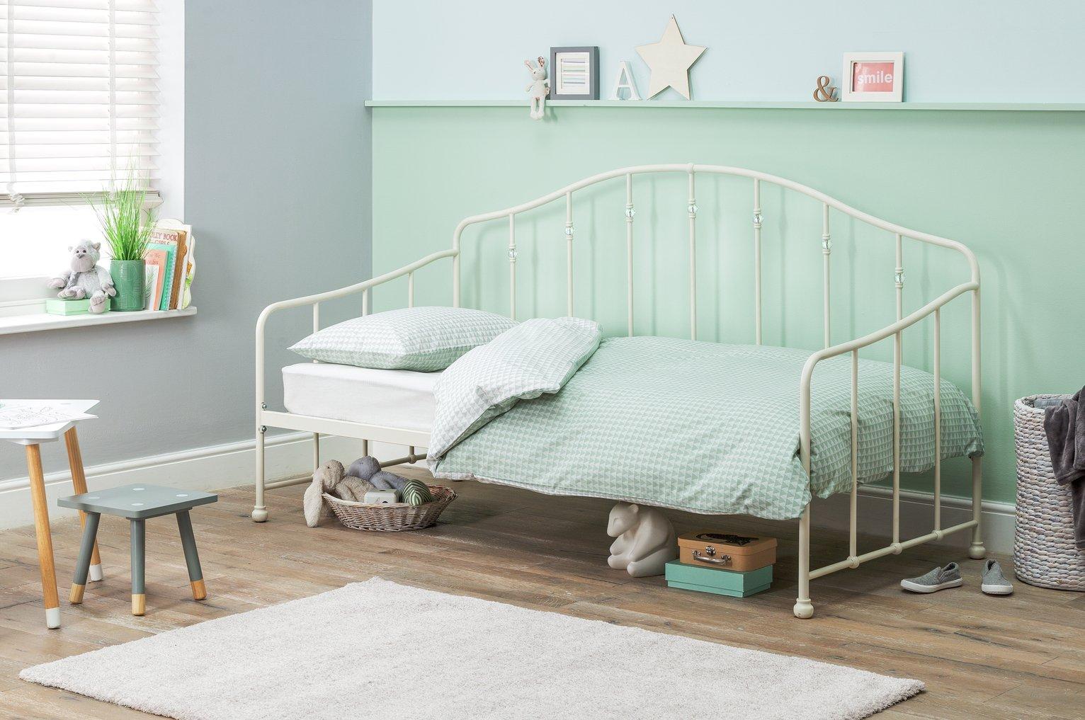 Argos Home Crystal Day Bed & Kids Mattress