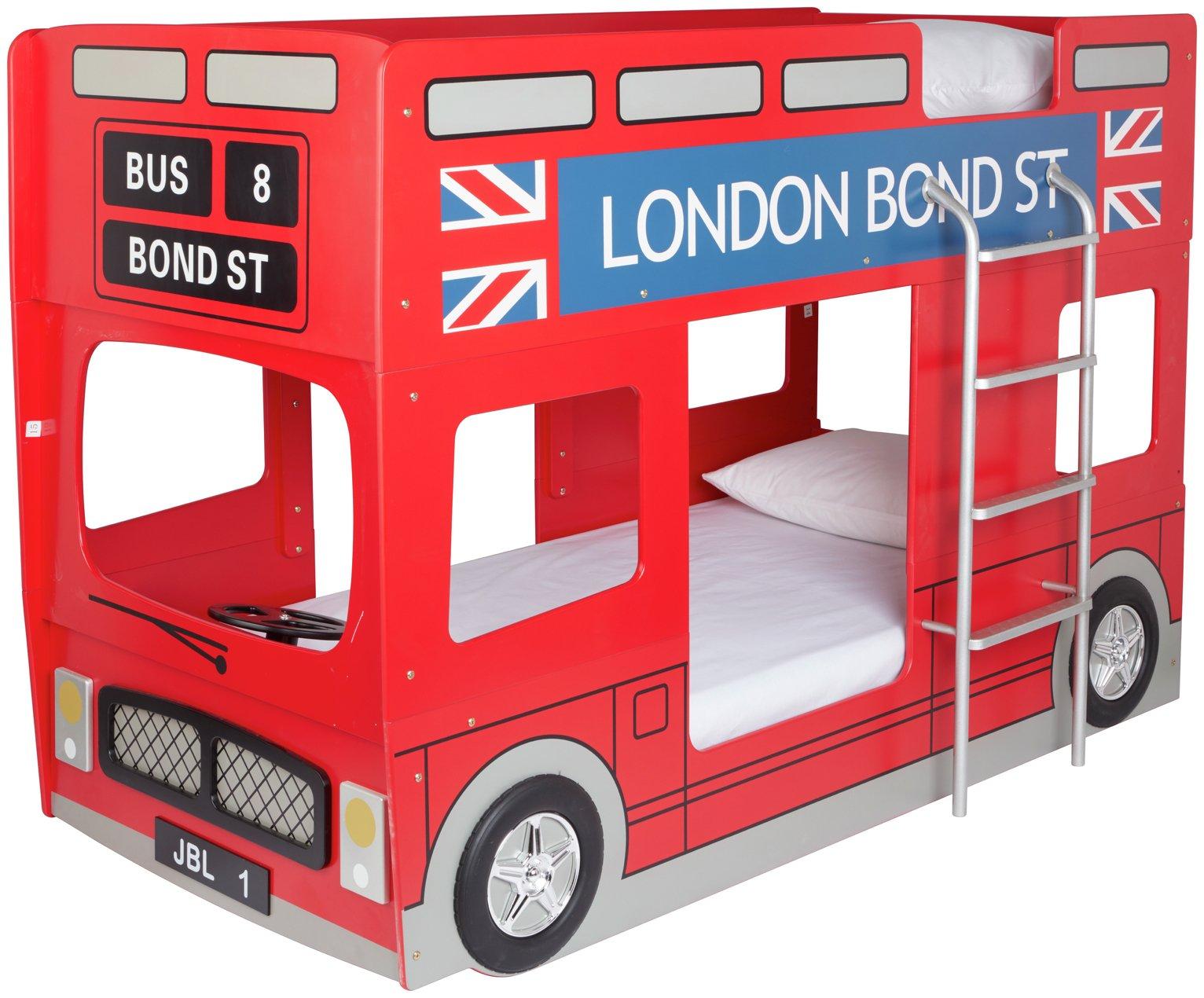 Julian Bowen Double Decker London Bus Bunk Bed