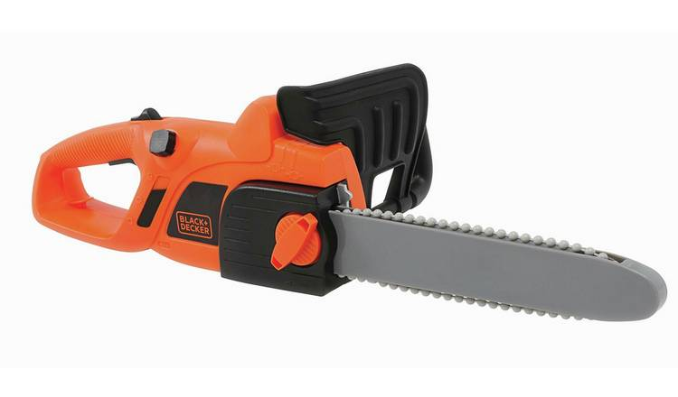 Smoby Toy Black + Decker Chainsaw