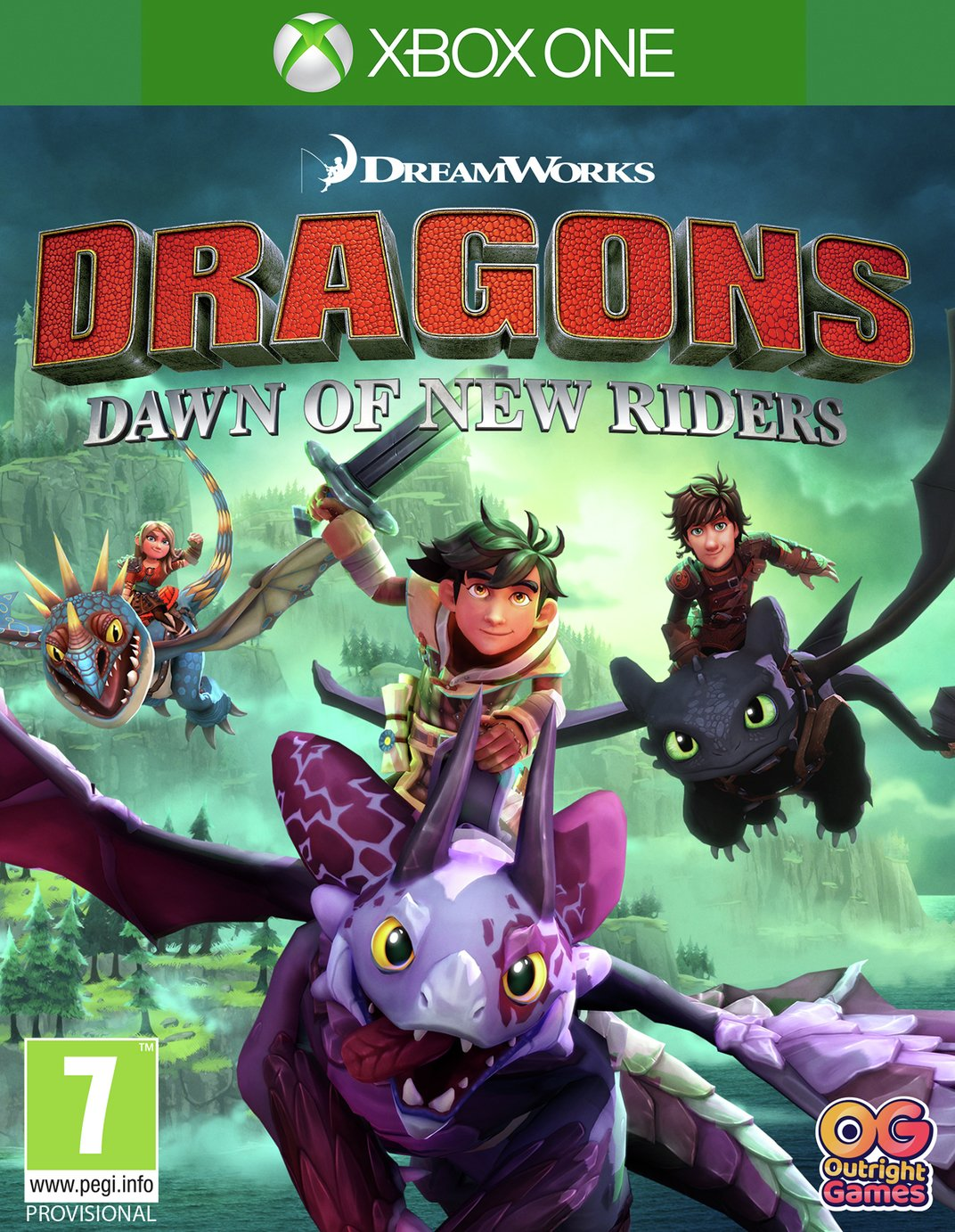 Dragons: Dawn of New Riders Xbox One Game