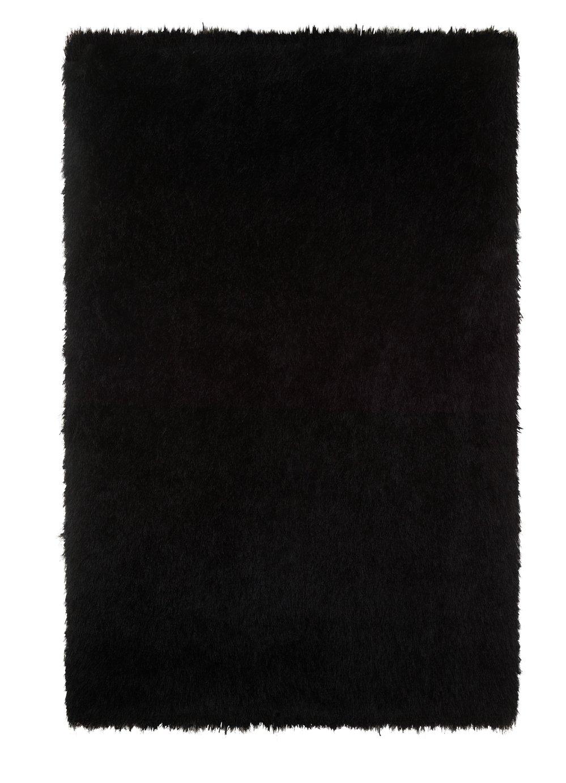 Argos Home Bliss Deep Pile Shaggy Rug - 170x110cm - Black