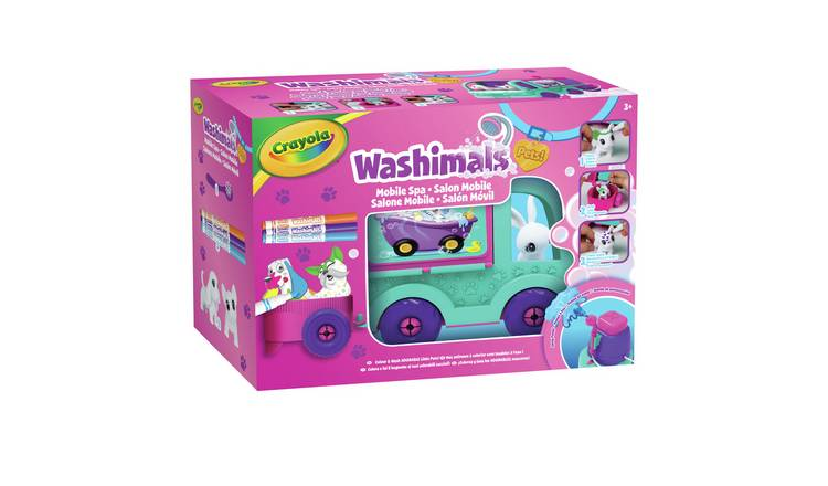 Crayola Washimals Colour and Wash Truck