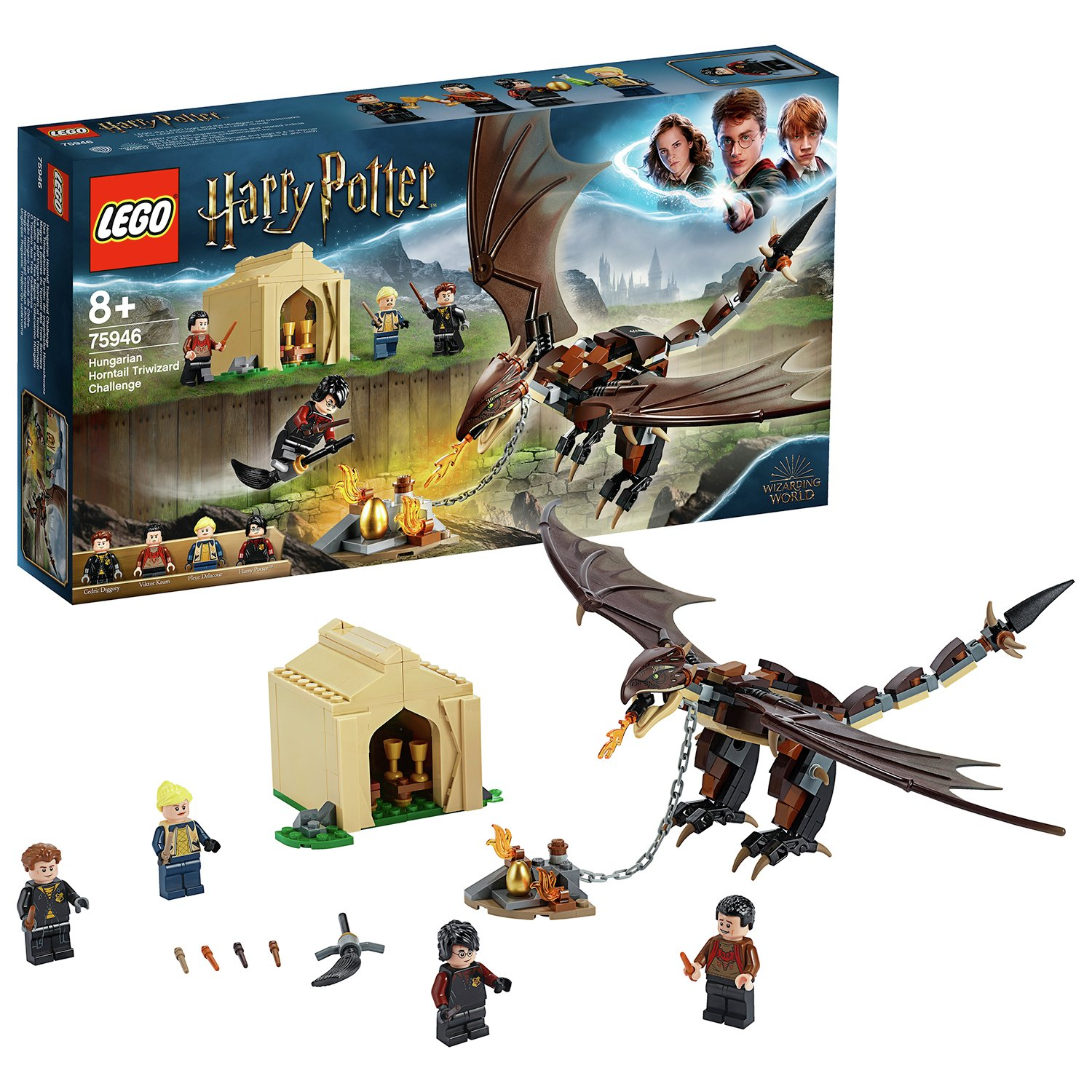 LEGO Harry Potter Horntail Triwizard Challenge - 75946