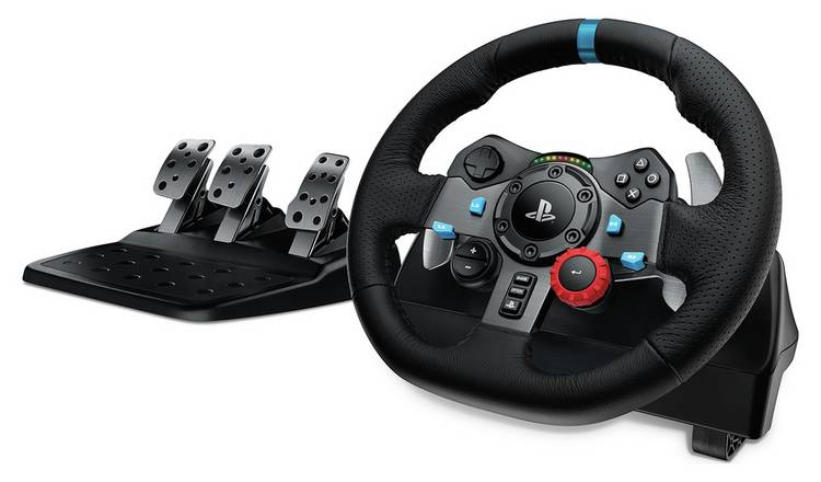 Logitech G29 Driving Force Steering Wheel for PS4, PS3, PC