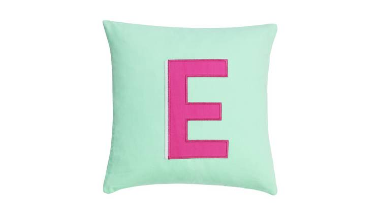 Argos Home Letter E Cushion