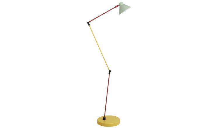 Habitat Bobby Metal Floor Lamp - Multicolour