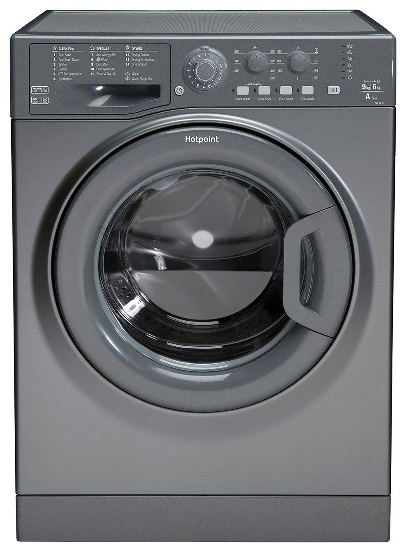 Hotpoint FDL9640GUK 9KG / 6KG 1400 Washer Dryer - Graphite