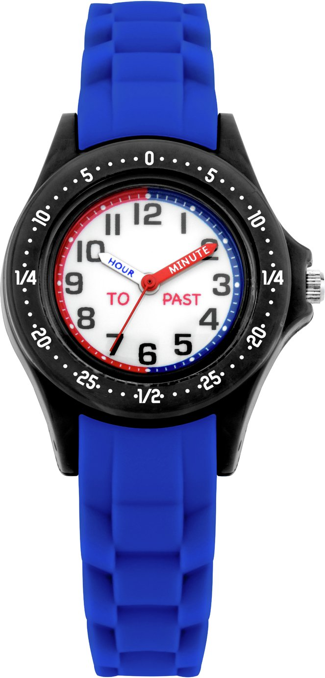 Little Tix Intercity Blue Silicone Time Teacher Watch