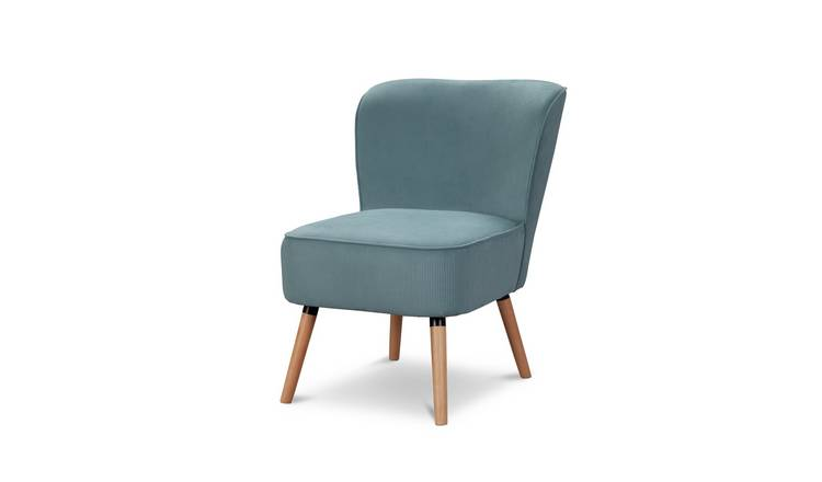 Habitat Eppy Fabric Accent Chair - Blue