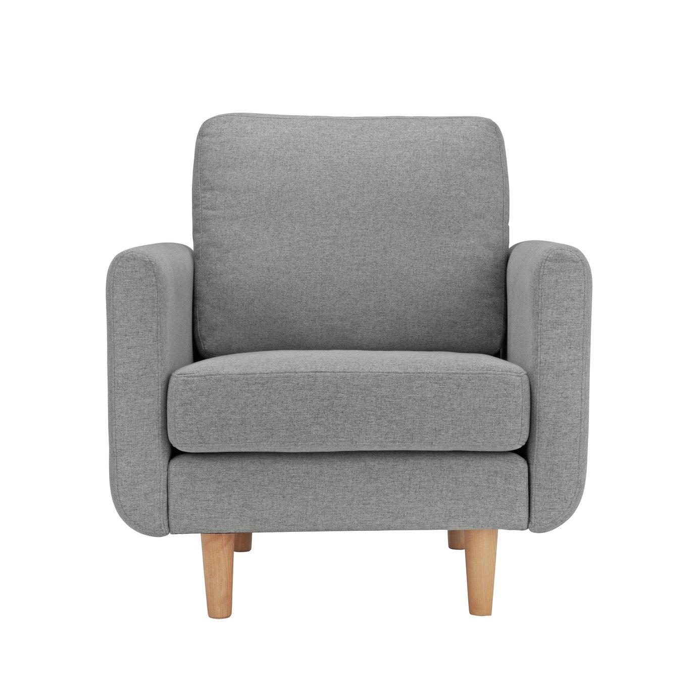 Argos Home Remi Fabric Armchair in a Box - Natural