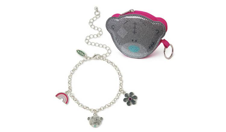 Me to You Silver Plated Jewellery and Purse Set