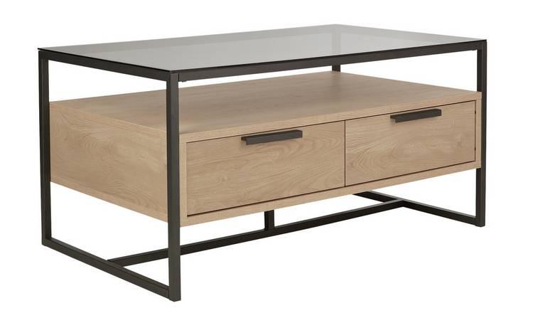 Buy Argos Home Nomad Coffee Table Light Oak Effect Coffee Tables Argos