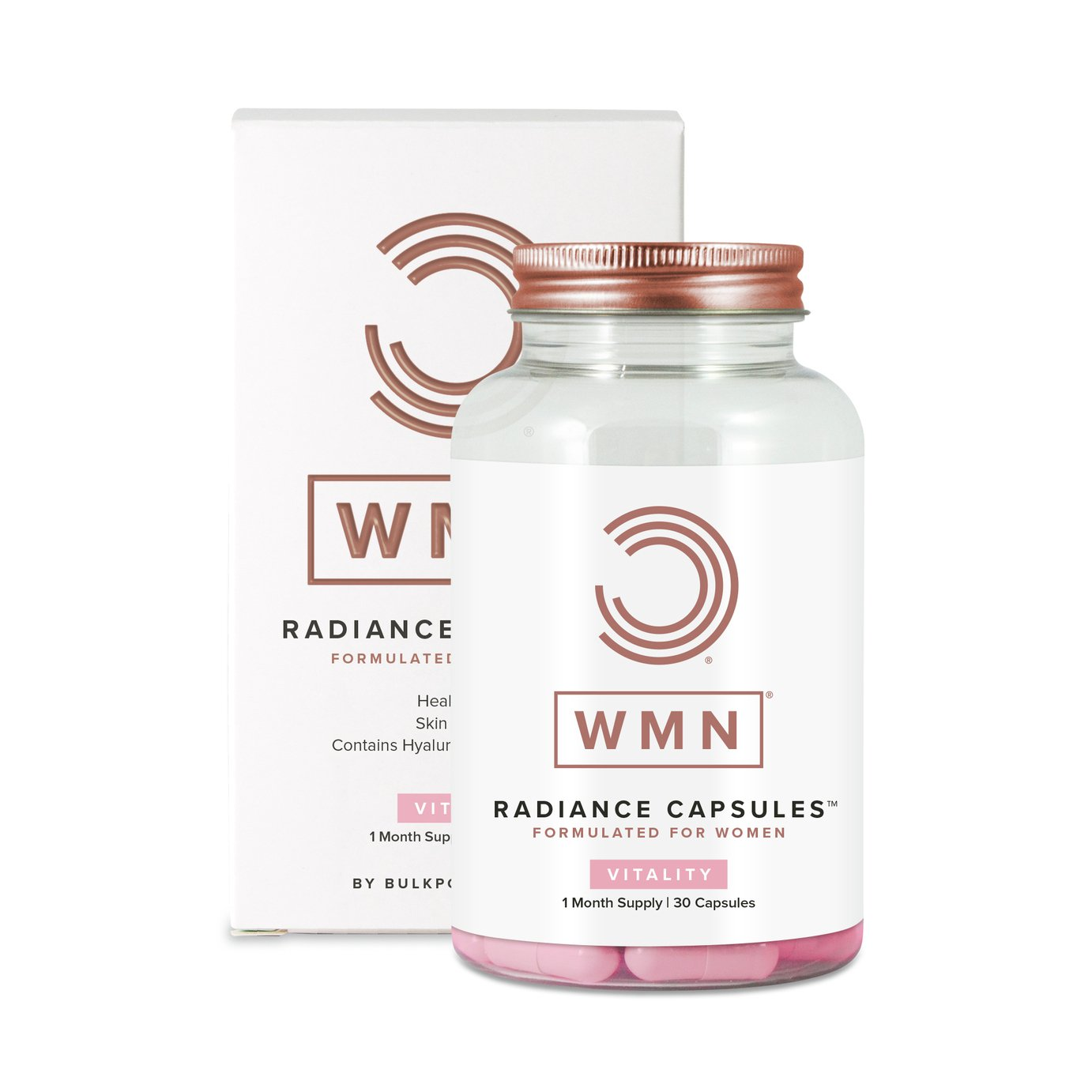 WMN Radiance Capsules Skin Hair and Nails Formula