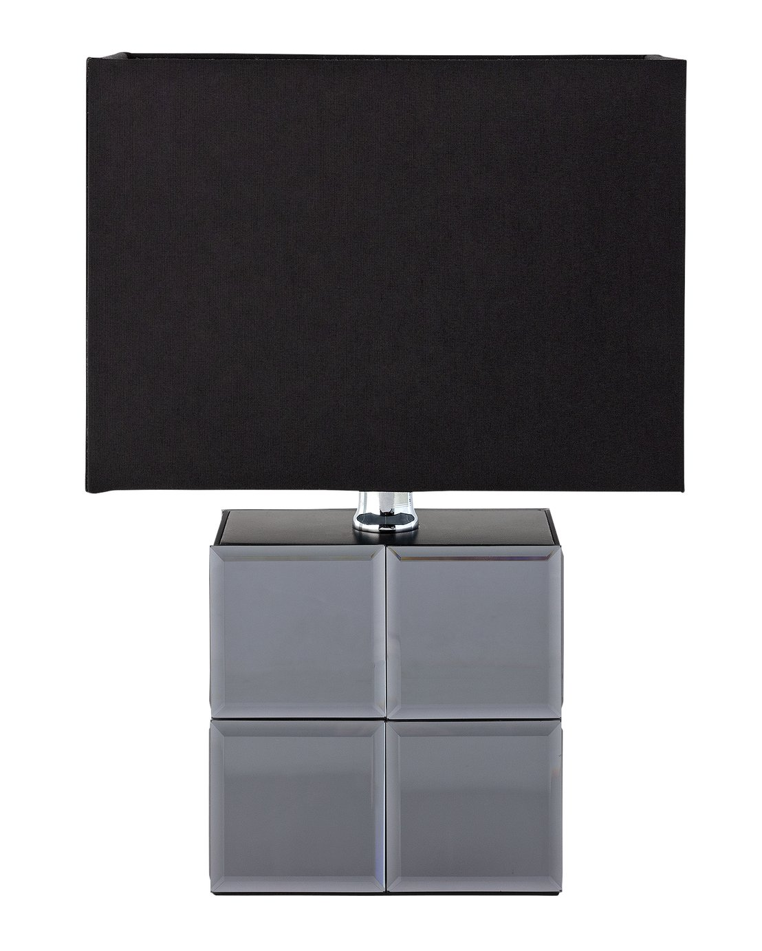 Argos Home Palm Luxe Mirrored Table Lamp