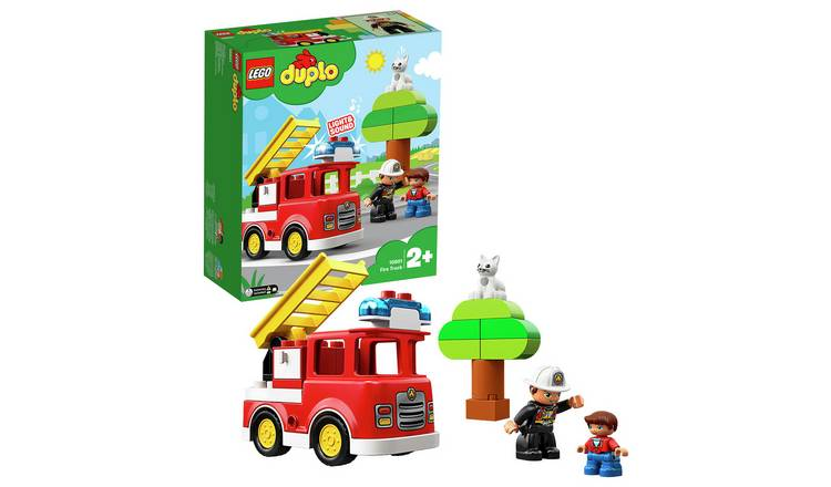 Buy Lego Duplo Fire Toy Truck 10901 Toy Cars Vehicles And Sets