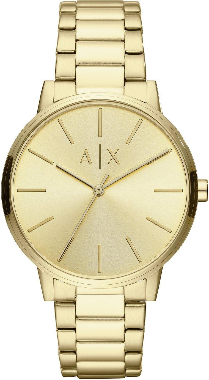 Armani Exchange Men's Gold Bracelet Watch