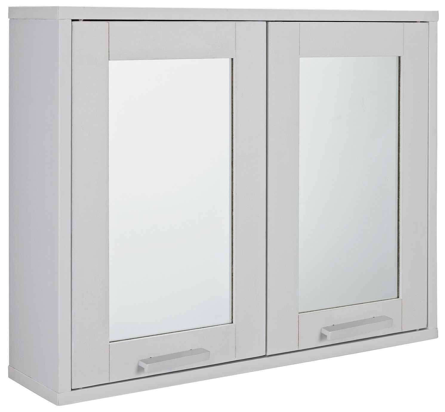 Argos Home Prime Double Mirrored Wall Cabinet