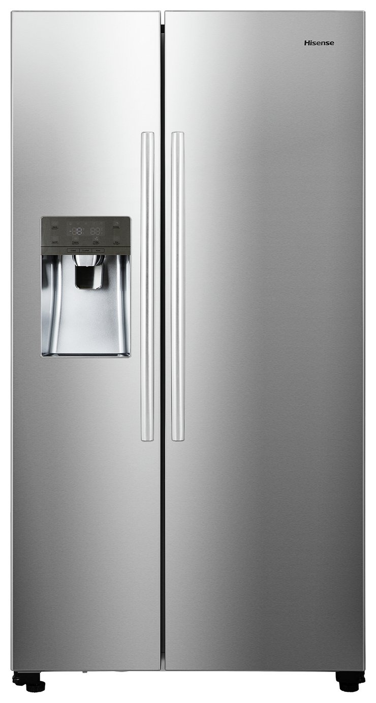 Hisense RS696N4IC1 American Fridge Freezer - Stainless Steel