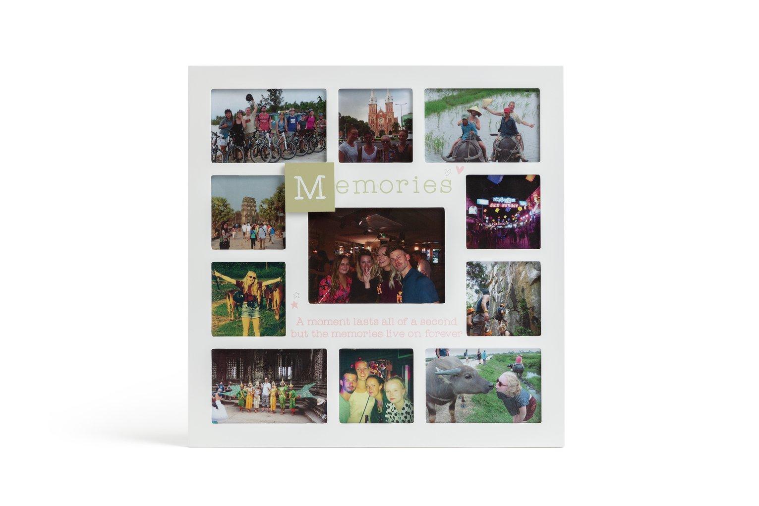 Memories Multi Aperature Photo Frame