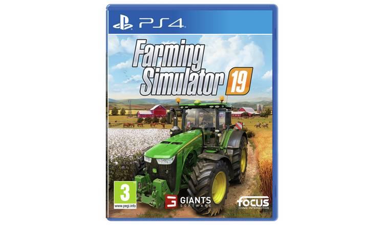 Buy Farming Simulator 19 PS4 Game | PS4 games | Argos