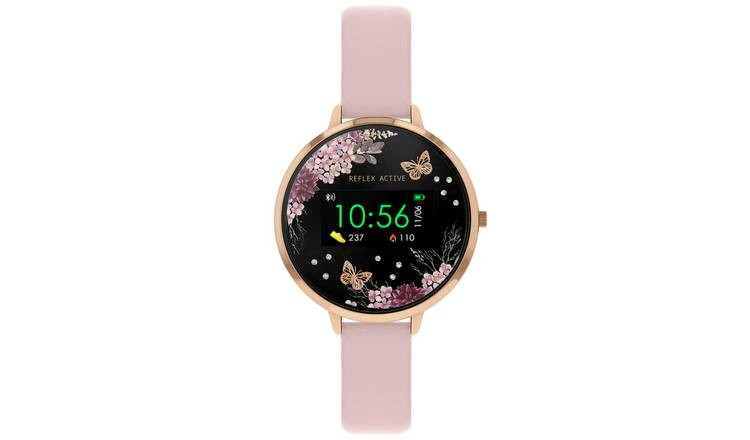 Reflex Active Smart Watch Blush Pink Strap