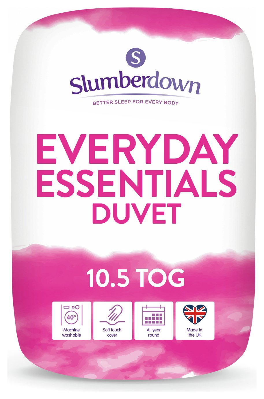 Slumberdown Everyday Essentials 10.5 Tog Duvet - Double