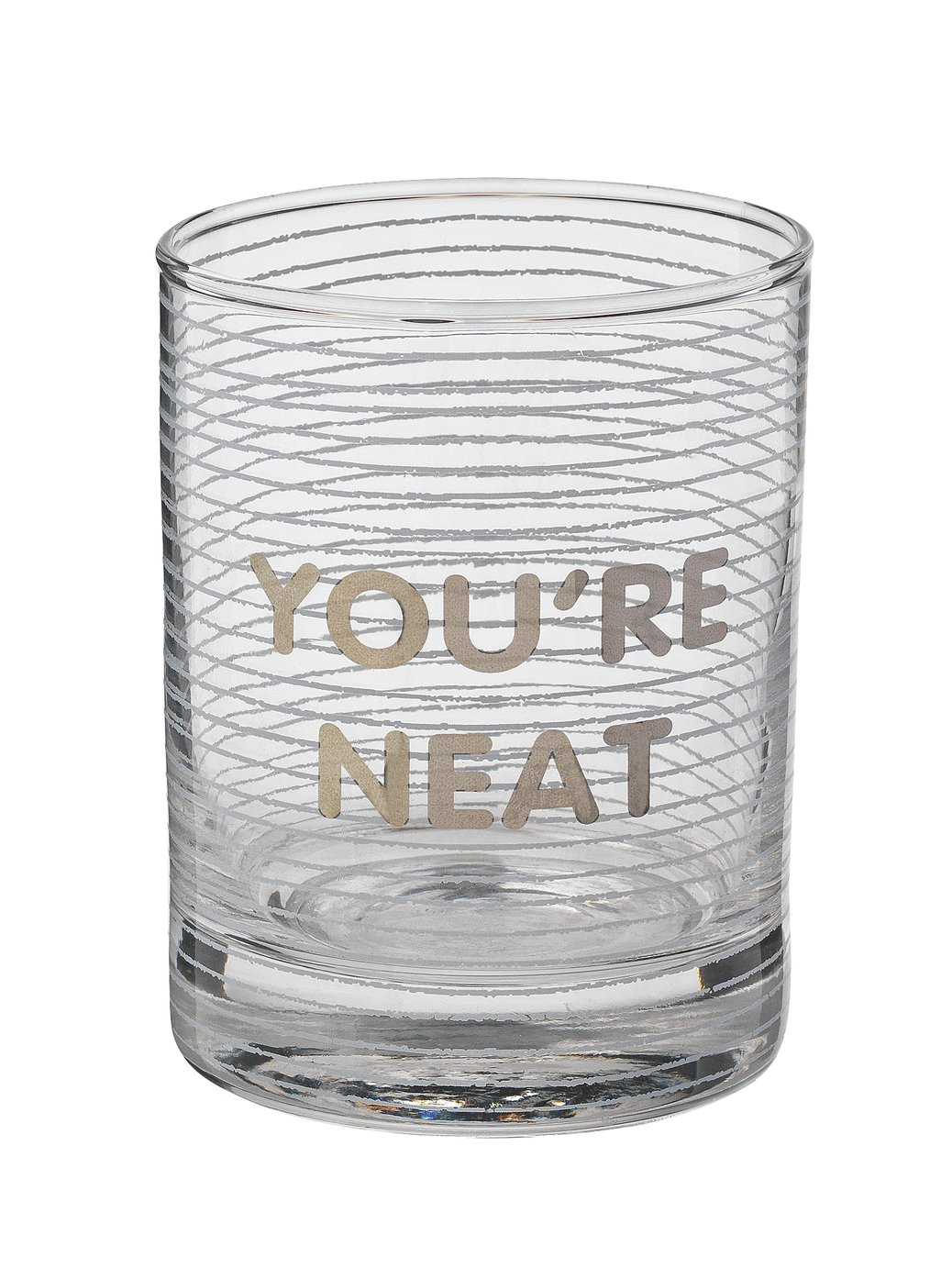 Argos Home Whiskey Glass