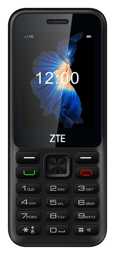 Three ZTE 2312 Mobile Phone - Black