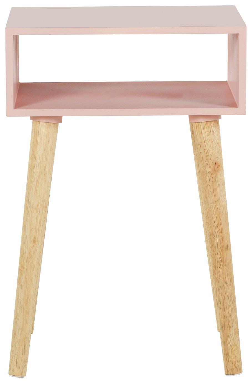 Habitat Cato Solid Wood Side Table