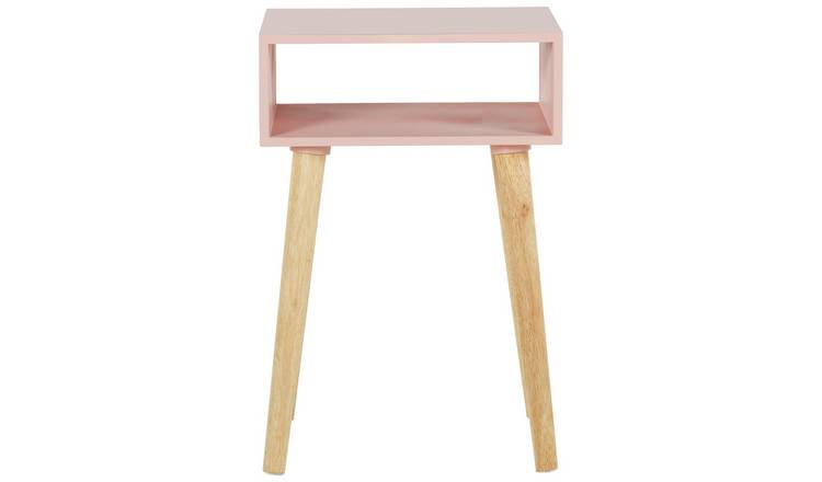 Habitat Cato Side Table - Pink