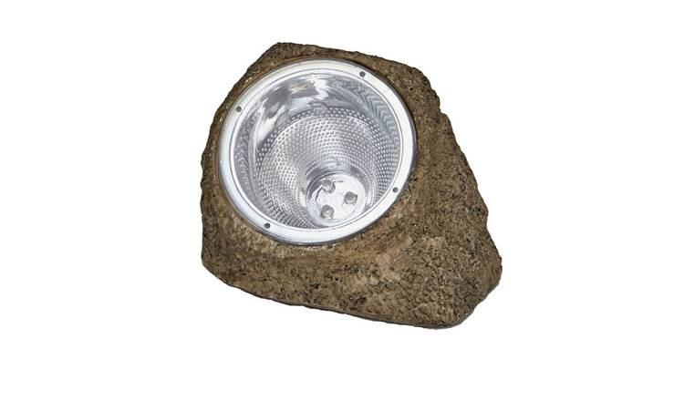 Habitat Set of 4 LED Solar Rock Lights