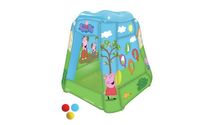 Peppa Pig Inflatable Ball Pit with 20 Balls