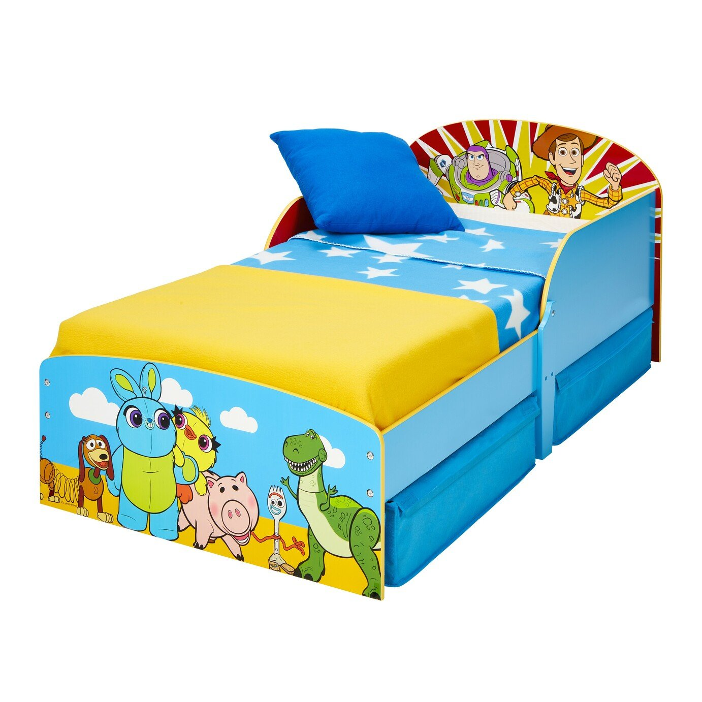 Disney Toy Story Toddler Bed with Drawers