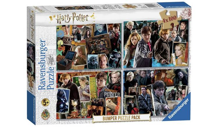 Harry Potter 4 x 100 Piece Puzzles