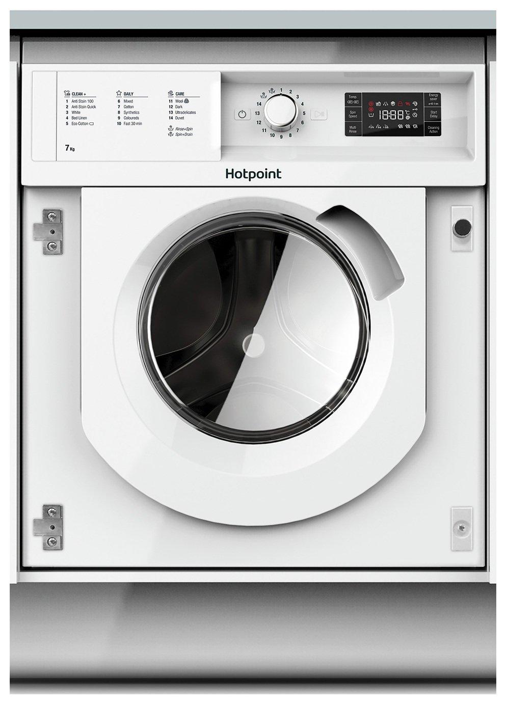 Image of Hotpoint BIWMHG71284UK 7KG 1200 Spin Washing Machine - White
