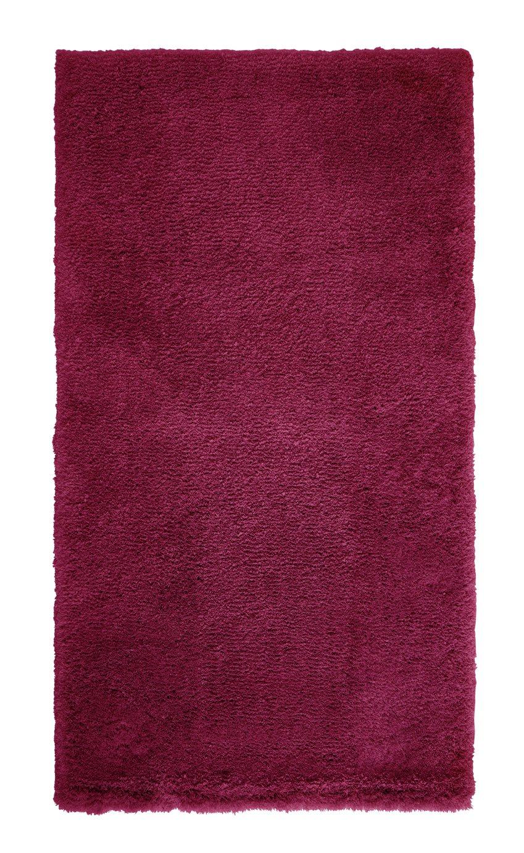 Argos Home Snuggle Shaggy Runner - 80x150cm - Berry Red