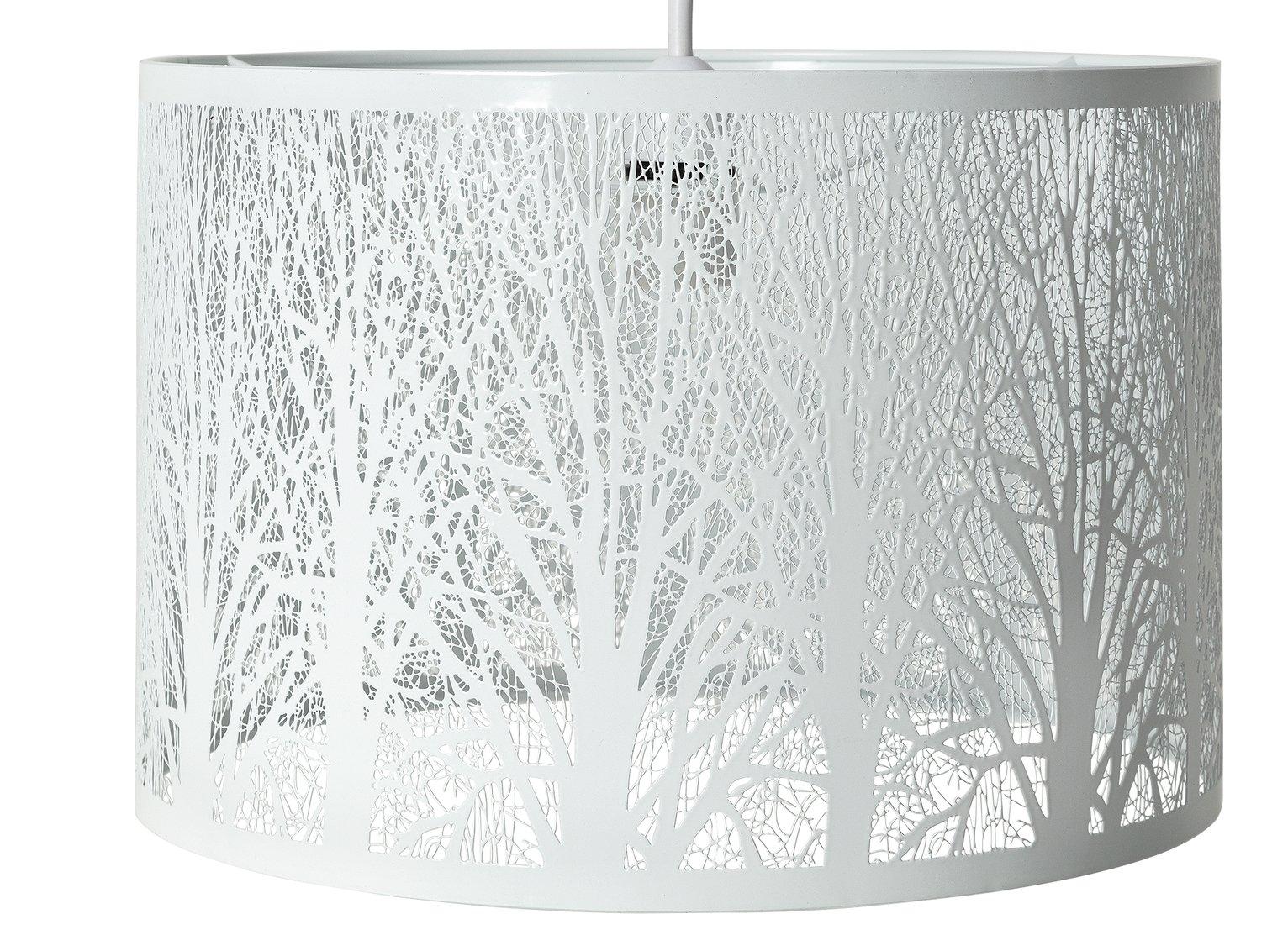 Argos Home Newbury Shade - White