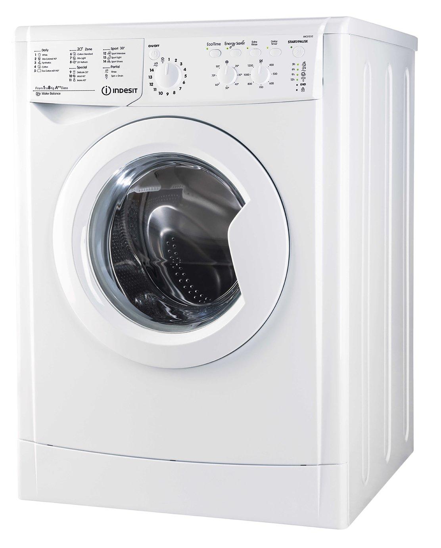 Indesit IWC81251 8KG 1200 Spin Washing Machine - White