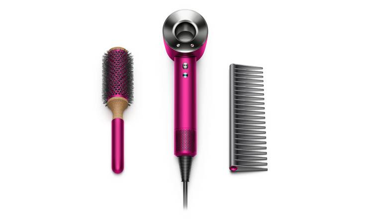 Dyson HD03 Supersonic Fuchsia Hair Dryer with Styling Set
