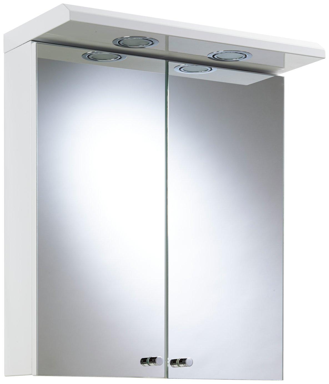 Argos Home 2 Door Steel Wall Cabinet - White