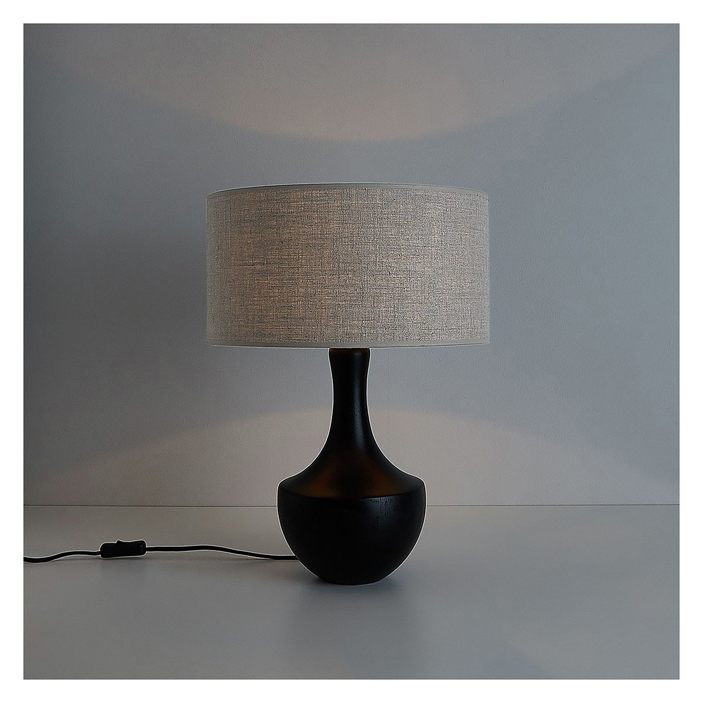 Habitat Warley Table Lamp Base - Black