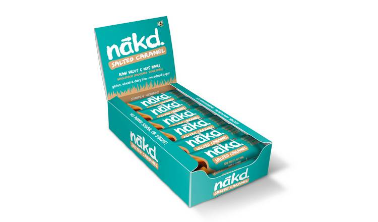 Nakd Banoffee Salted Caramel Snack Bars x 18