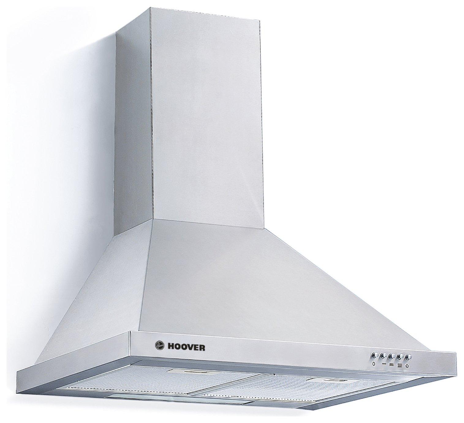 Hoover H-HOOD 300 HCE160X Cooker Hood - Stainless Steel