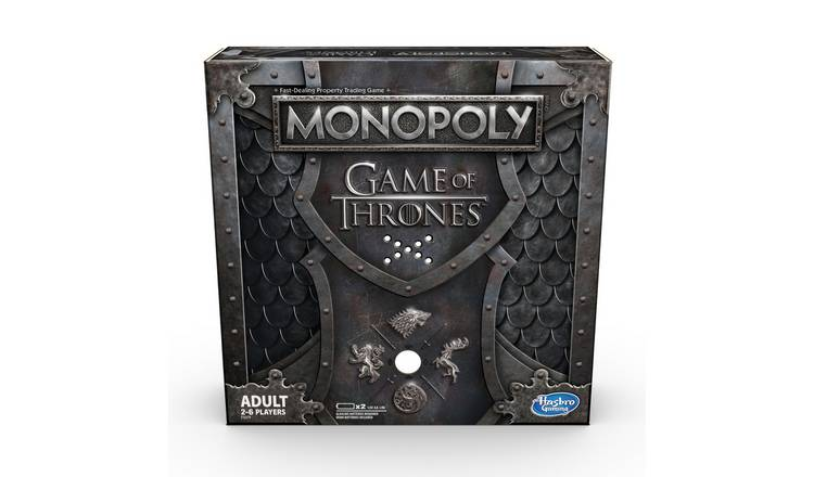 Monopoly Game Of Thrones From Hasbro Gaming by Argos